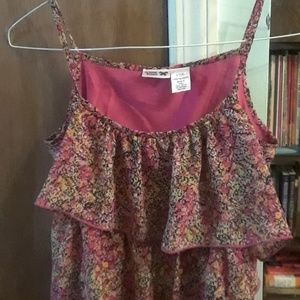 Tops - Floral top, size 14